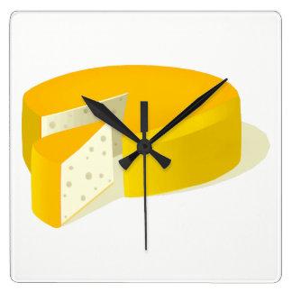 Cheese Wall Clocks