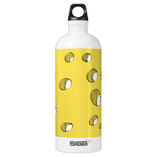 Cheese with holes water bottle