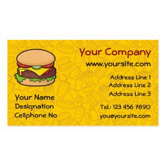 Cheeseburger Business Card