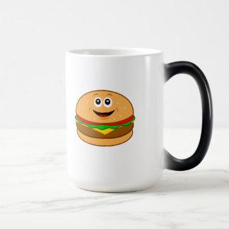 Cheeseburger Cartoon Magic Mug