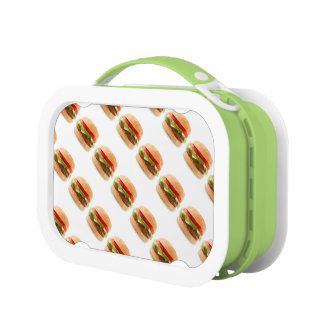 Cheeseburger Design Lunch Box for Kids or Adults