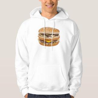 Cheeseburger double fast food hoodie