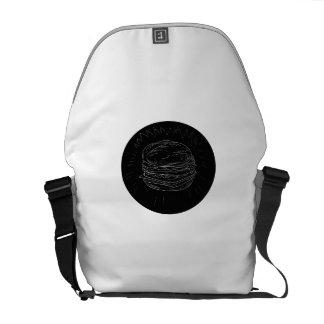 Cheeseburger Drawing Messenger Bag