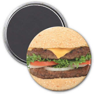 Cheeseburger Fun Food Refrigerator Magnet