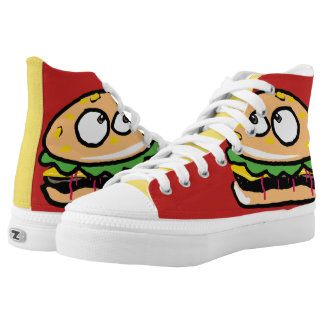 Cheeseburger Graphic High Tops