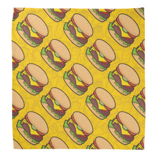 Cheeseburger Head Kerchiefs