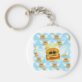 Cheeseburger Heaven Keychain