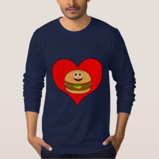 Cheeseburger in a Heart T-Shirt