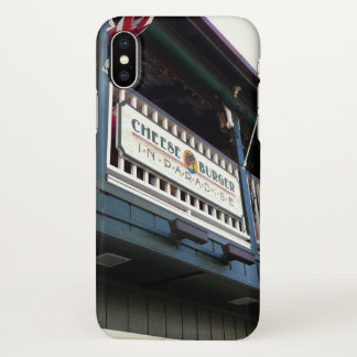 Cheeseburger in Paradise, Lahaina, Maui, Hawaii iPhone X Case