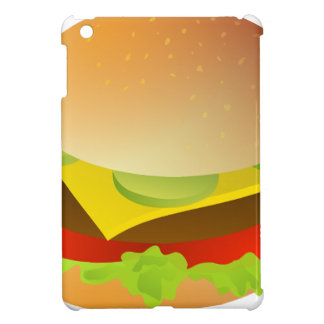 cheeseburger iPad mini cover
