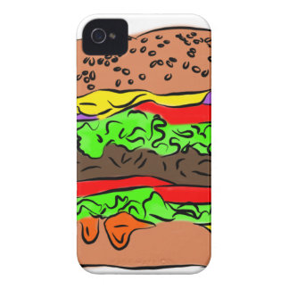 Cheeseburger iPhone 4 Case-Mate Case