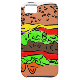Cheeseburger iPhone 5 Cover