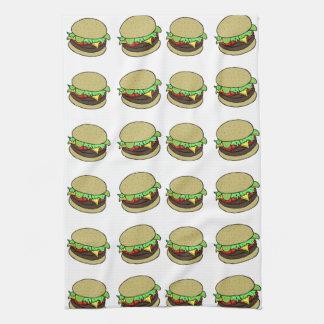Cheeseburger Kitchen Towel
