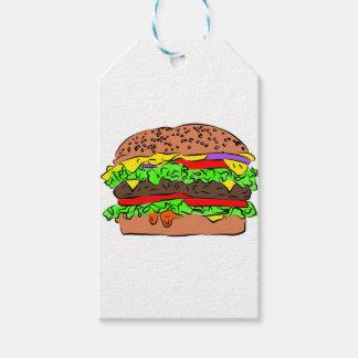 Cheeseburger Pack Of Gift Tags
