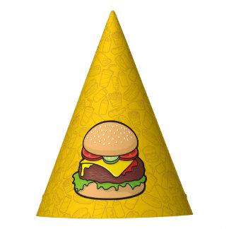 Cheeseburger Party Hat
