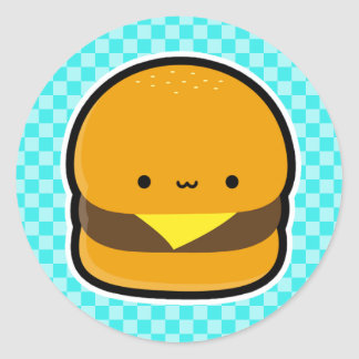 Cheeseburger Stickers