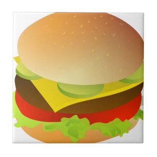 cheeseburger tile
