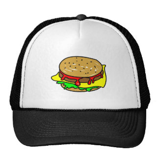 cheeseburger trucker hat