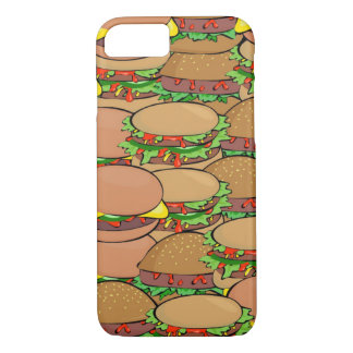 Cheeseburger World iPhone 7 Case