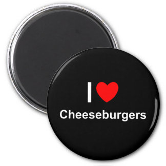 Cheeseburgers Magnet