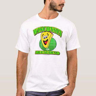CheeseHead Cartoon T-Shirt