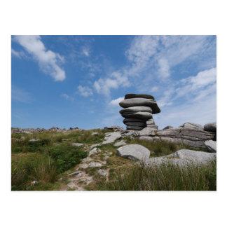 Cheesewring, Stowe's Hill, Minions, Cornwall, UK Postcard