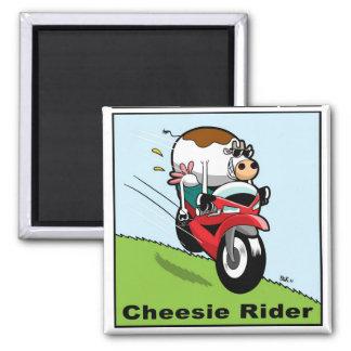 Cheesie Rider Magnet