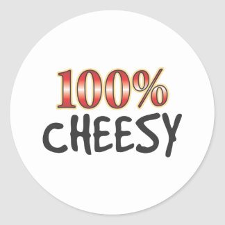 Cheesy 100 Percent Sticker