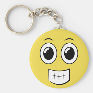 Cheesy Grin Keychain