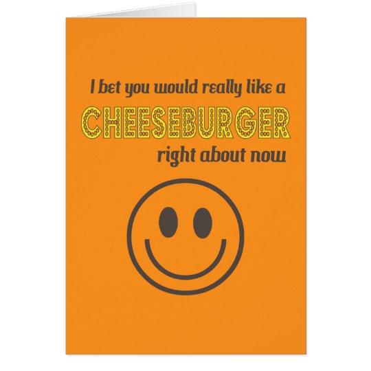 Cheesy Humour Card