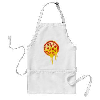 Cheesy pizza adult apron