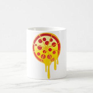 Cheesy pizza morphing mug