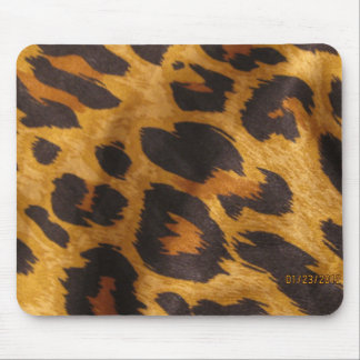 Cheeta colors mouse pad