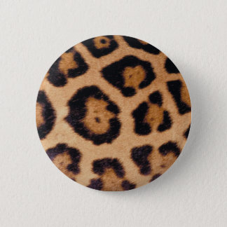 Cheetah 2 Inch Round Button