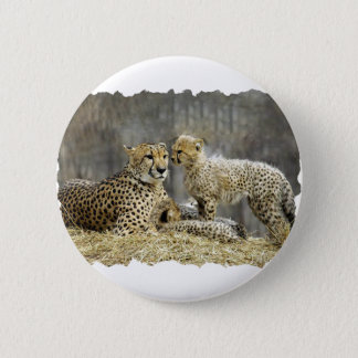 Cheetah-a-Cubs 2 Inch Round Button