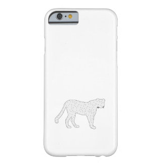 cheetah barely there iPhone 6 case