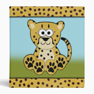 Cheetah Binder (Fuzzy)