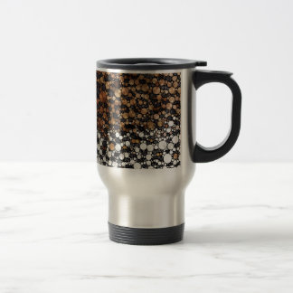 Cheetah Bling Art Decor Travel Mug