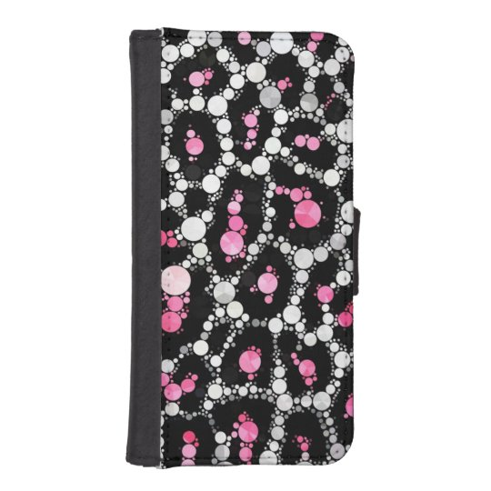Cheetah Bling iPhone5/5s FAUX leather Wallet Case Phone Wallet Cases
