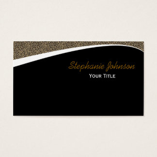 Cheetah Business Card