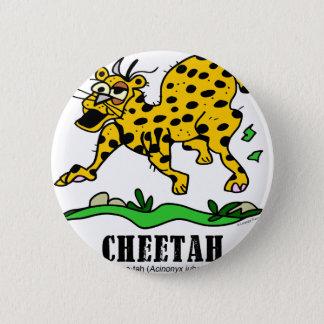 Cheetah by Lorenzo © 2018 Lorenzo Traverso 2 Inch Round Button