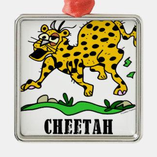 Cheetah by Lorenzo © 2018 Lorenzo Traverso Metal Ornament