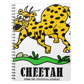 Cheetah by Lorenzo © 2018 Lorenzo Traverso Notebook