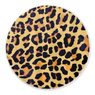 Cheetah Cabinet Knob