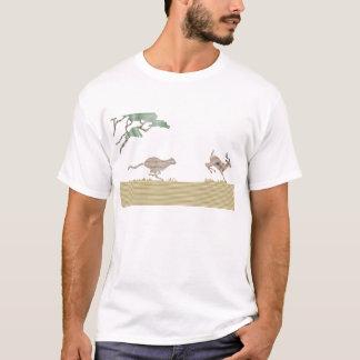cheetah chasing lines T-Shirt