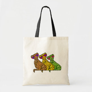 Cheetah Cool Cats Tote Bag