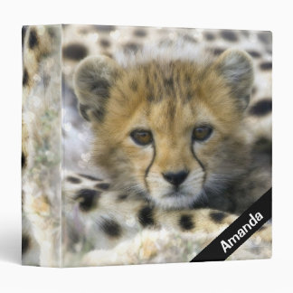 Cheetah Cub Binder