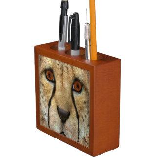 Cheetah Desk Organizer