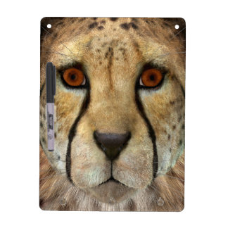 Cheetah Dry Erase Board