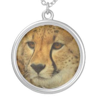 Cheetah Face Necklace